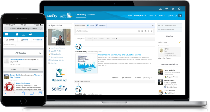 Sensify Community Groups